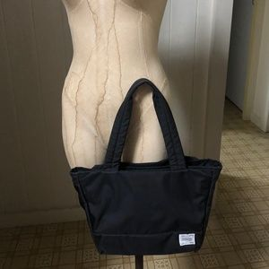PORTER GIRL MOUSSE Black Small Tote Bag